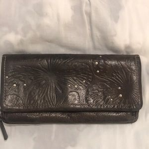 Fossil All leather wallet